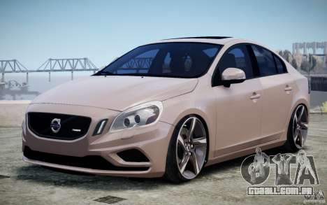 Volvo S60 R-Design 2011 para GTA 4 vista interior