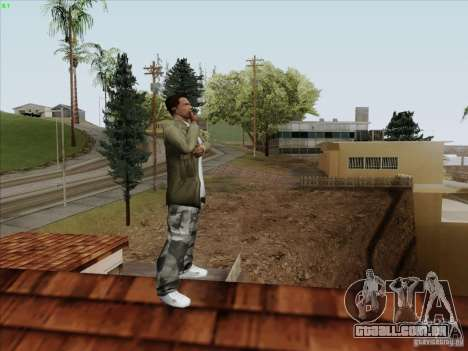 Gentleman Dance Animation para GTA San Andreas terceira tela