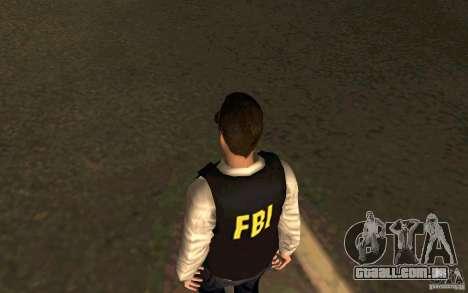 FBI HD para GTA San Andreas terceira tela