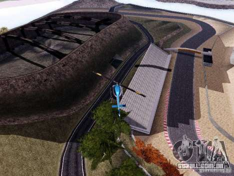 Laguna Seca Raceway para GTA San Andreas por diante tela