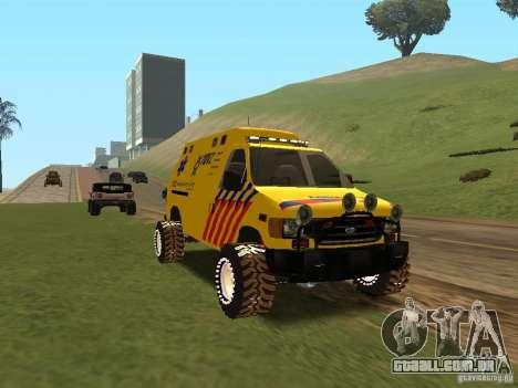 Ford E-150 para GTA San Andreas