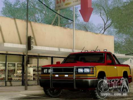 Yosemite Custom para GTA San Andreas