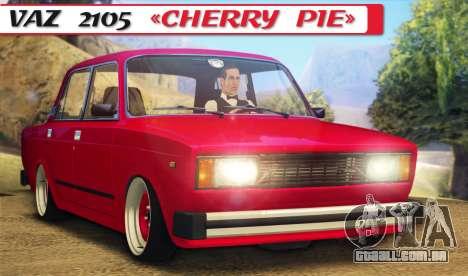 Torta de cereja 2105 VAZ para GTA San Andreas