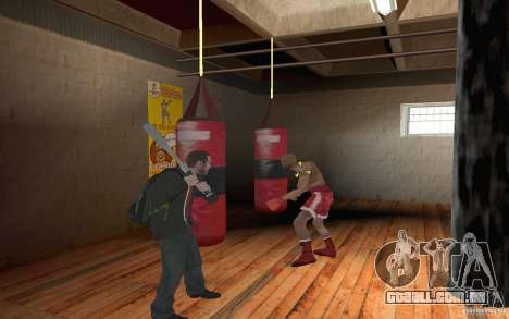 The combat system from GTA IV para GTA San Andreas