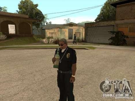 Reality GTA v1.0 para GTA San Andreas por diante tela