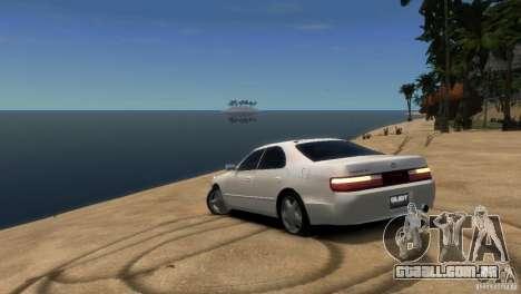 Toyota Chaser x90 para GTA 4 traseira esquerda vista