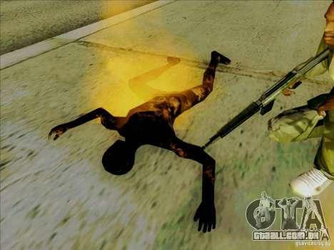 Corpos carbonizados para GTA San Andreas