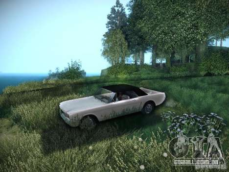 Ford Mustang Convertible 1964 para GTA San Andreas vista direita