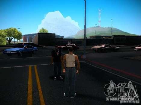 Alterar caracteres para GTA San Andreas terceira tela