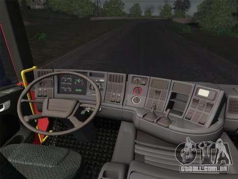 Scania 94D-260 Corpo Bombeiros SP para as rodas de GTA San Andreas