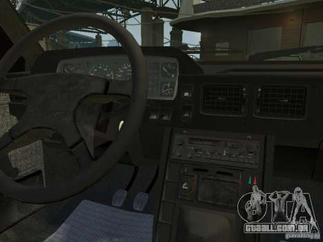 FSO Polonez Caro para GTA 4 vista interior