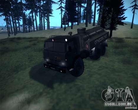 Bowser KAMAZ-4310 para GTA San Andreas