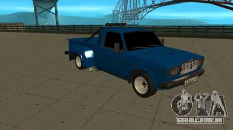 VAZ 2107 Ford para GTA San Andreas