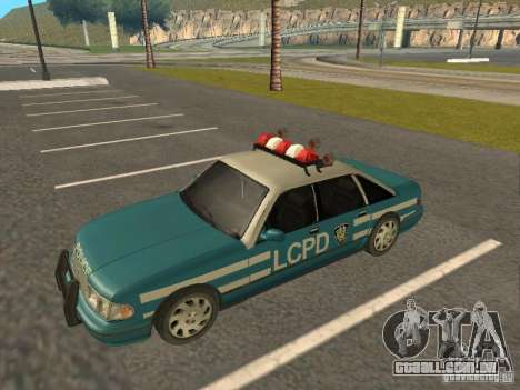 HD Police from GTA 3 para GTA San Andreas vista direita