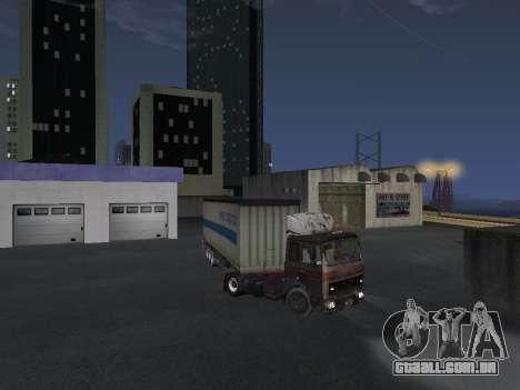 Reboque Schmitz para GTA San Andreas vista direita