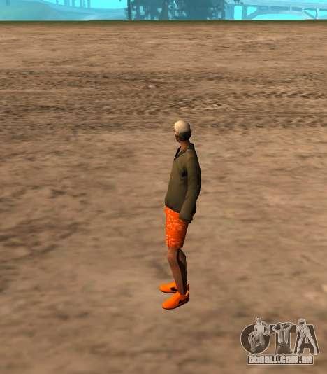Skin id 212 para GTA San Andreas segunda tela