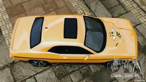 Dodge Challenger SRT8 392 2012 [EPM] para GTA 4 vista direita