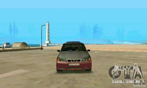 Daewoo Nexia Tuning para GTA San Andreas vista direita