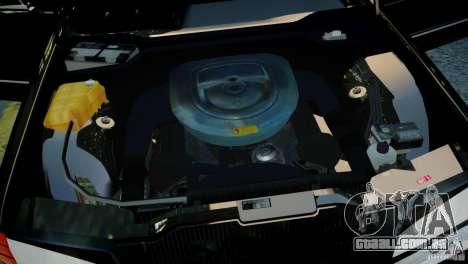 Mercedes-Benz 560 SEL Black Edition para GTA 4 vista direita
