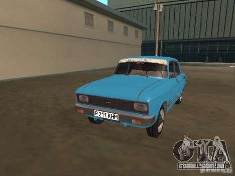 SL Moskvich 2140 para GTA San Andreas