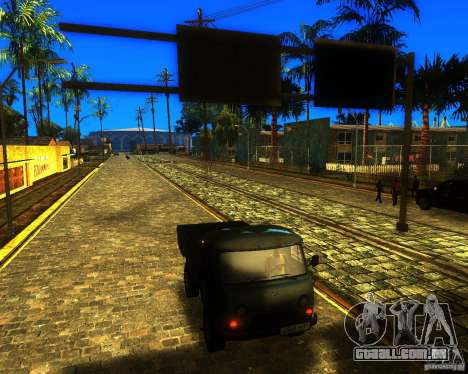 UAZ 330364 para GTA San Andreas traseira esquerda vista