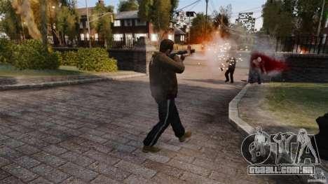 O dano real de braços para GTA 4 por diante tela