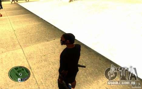 Skull Mask para GTA San Andreas por diante tela