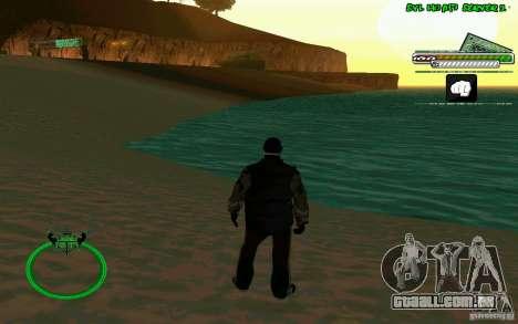 Bomje & Gop para GTA San Andreas por diante tela