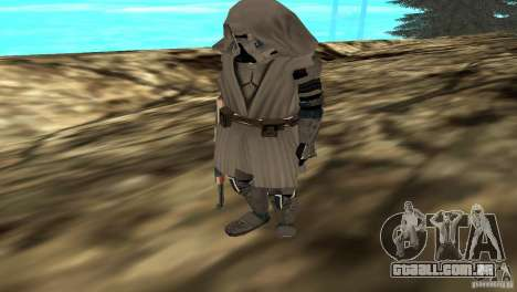 Commander Keller para GTA San Andreas segunda tela