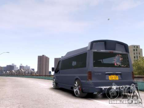 Ford Transit Sport Edition RV 2013 para GTA 4 vista direita