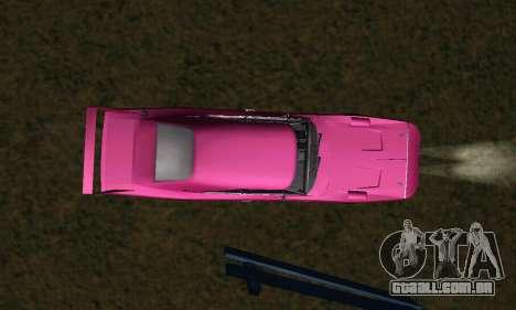 Dodge Charger Daytona SRT10 para GTA San Andreas vista superior