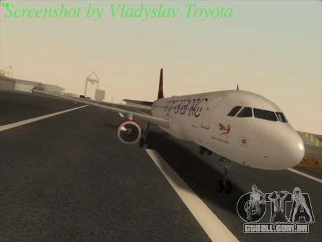 Airbus A320-211 Virgin Atlantic para GTA San Andreas