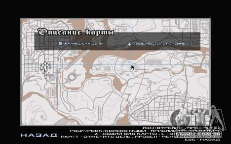 GTA V map para GTA San Andreas sexta tela