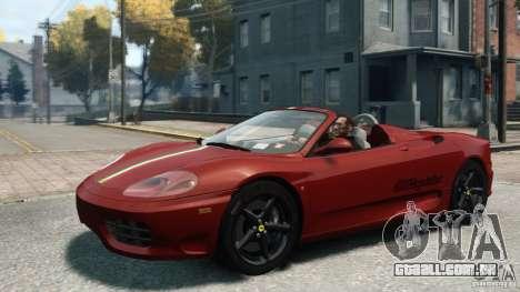 Ferrari 360 Spider 2000 para GTA 4