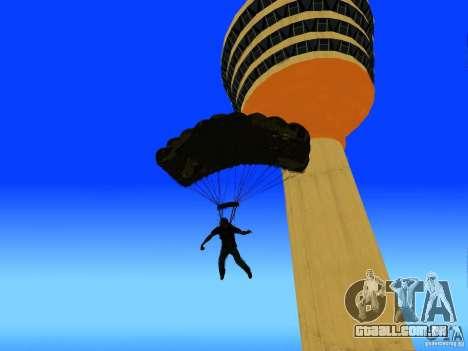 Global Parachute Mod para GTA San Andreas quinto tela