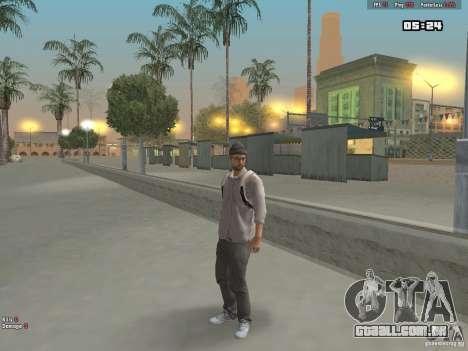 Skin Hipster v1.0 para GTA San Andreas terceira tela