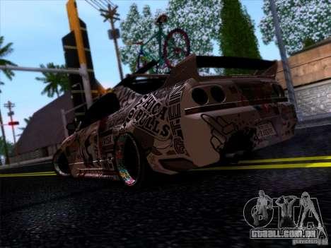 Nissan GT-R R33 HellaFlush para GTA San Andreas vista direita