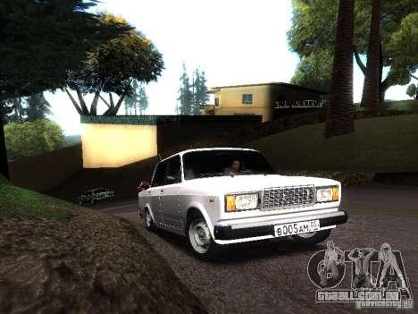 DAG VAZ 2107 para GTA San Andreas