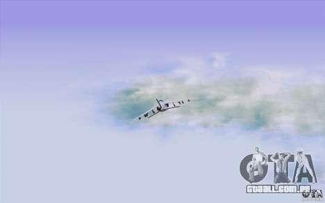 Sky Box V2.0 para GTA San Andreas quinto tela