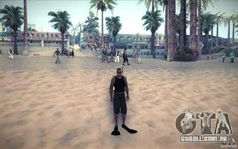 Tanque de mergulho para GTA San Andreas terceira tela