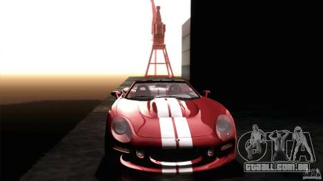 Shelby Series 1 1999 para vista lateral GTA San Andreas
