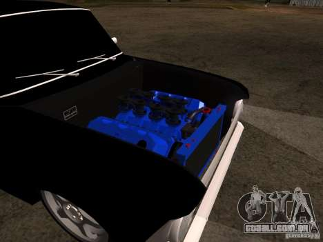 Estilo Extra Moskvitch 408 para GTA San Andreas vista direita
