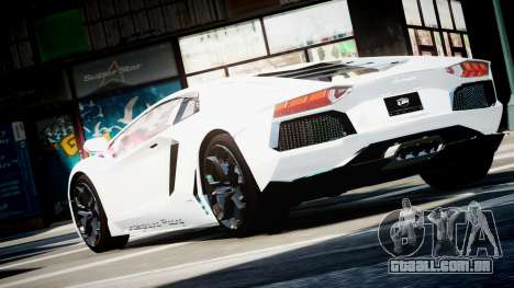 Lamborghini Aventador LP700-4 Twin Turbo UGR para GTA 4