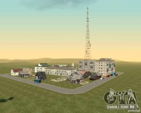Novo campo de distrito dos sonhos para GTA San Andreas