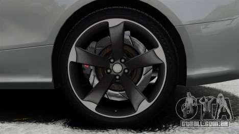 Audi RS5 2012 para GTA 4 vista interior