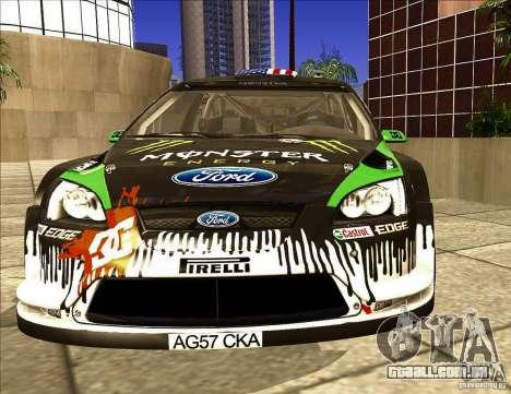 Ford Focus RS 2000 para GTA San Andreas esquerda vista