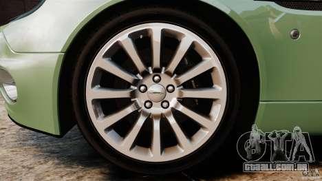 Aston Martin Vanquish 2001 para GTA 4 vista lateral