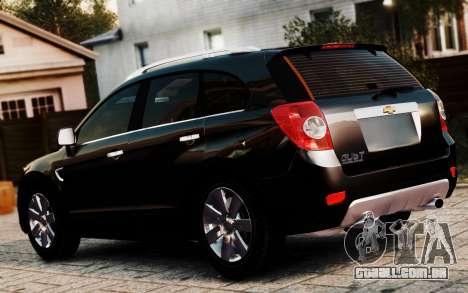 Chevrolet Captiva 2010 para GTA 4 esquerda vista