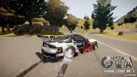 MAZDA RX-7 Mad Mike 2 para GTA 4 vista de volta