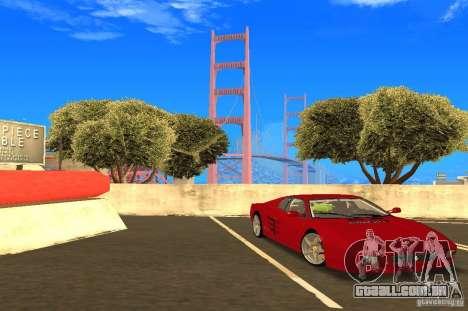 Ferrari 512TR para GTA San Andreas vista direita